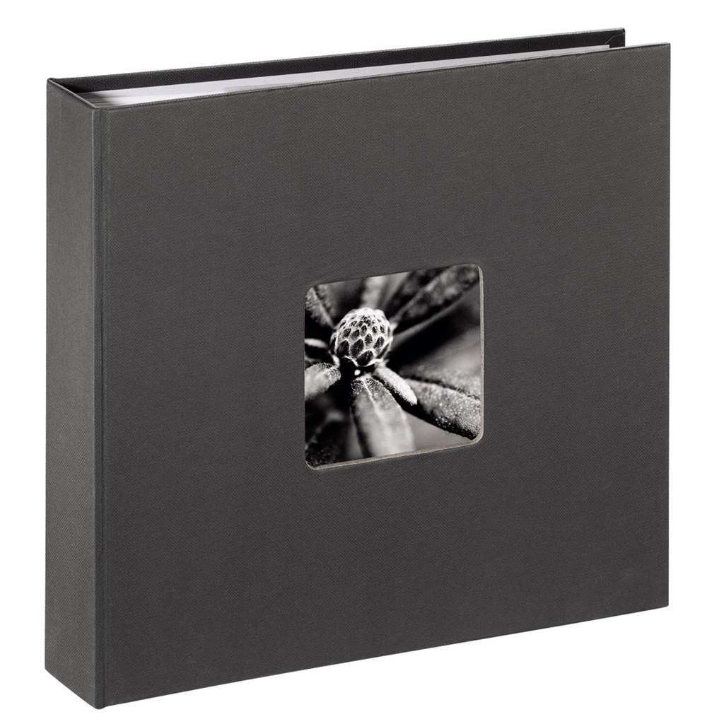 Hama album memo FINE ART 10X15/160, šedé, popisové pole