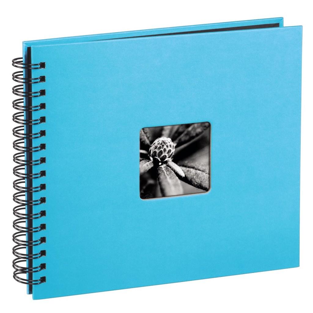 Hama album klasické spirálové FINE ART 36x32 cm, 50 stran, tyrkysové