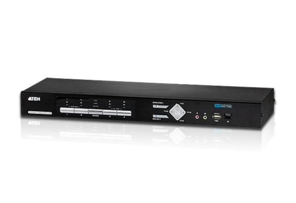 ATEN KVM 4/1 CM-1164 4-port USB DVI-D KVMP Control Center