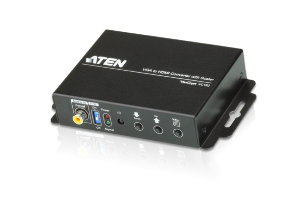 ATEN VC182-AT-G VGA TO HDMI CONVERTER W/SCALER W/EU ADP