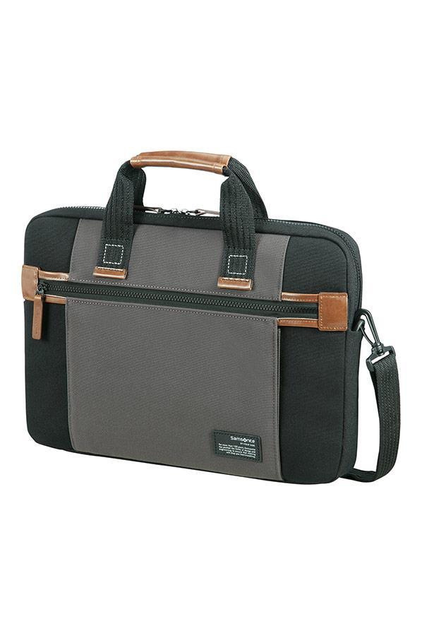 Case SAMSONITE 22N19003 SIDEWAYS 15,6'' comp, pock, topload., black/grey