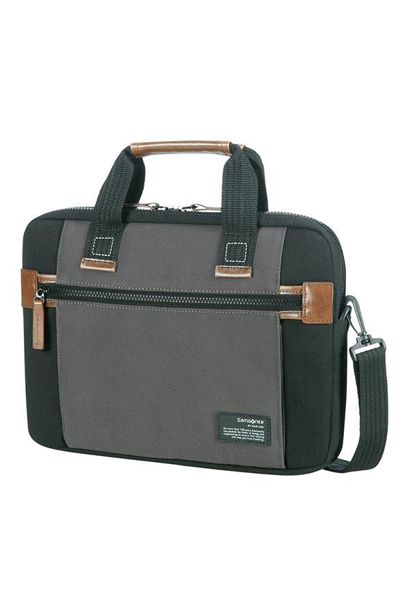 Case SAMSONITE 22N19002 SIDEWAYS 13,3'' comp, pock, topload., black/grey