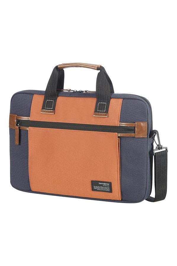 Case SAMSONITE 22N11003 SIDEWAYS 15,6'' comp, pock, topload., blue/orange