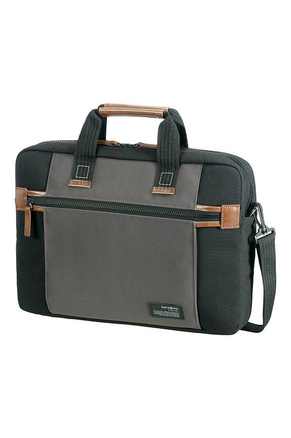 Case SAMSONITE 22N19004 SIDEWAYS 15,6'' comp, pock, tblt, topload., black/grey