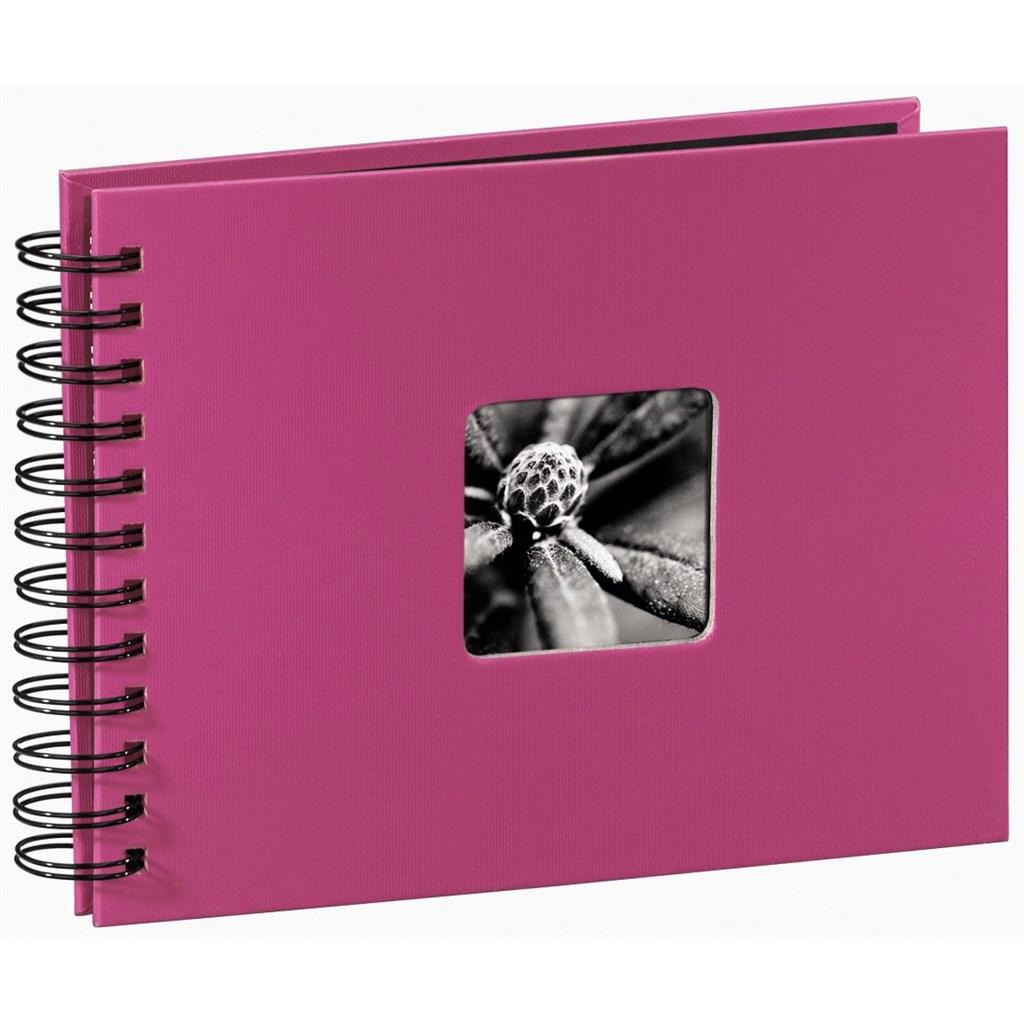 Hama album klasické spirálové FINE ART 24x17 cm, 50 stran, pink