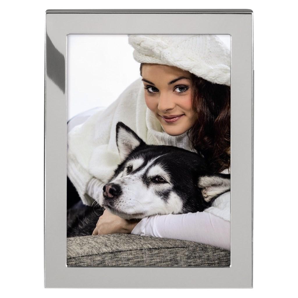 Hama Fairbanks portrétový rámeček, stříbrný, 13x18 cm