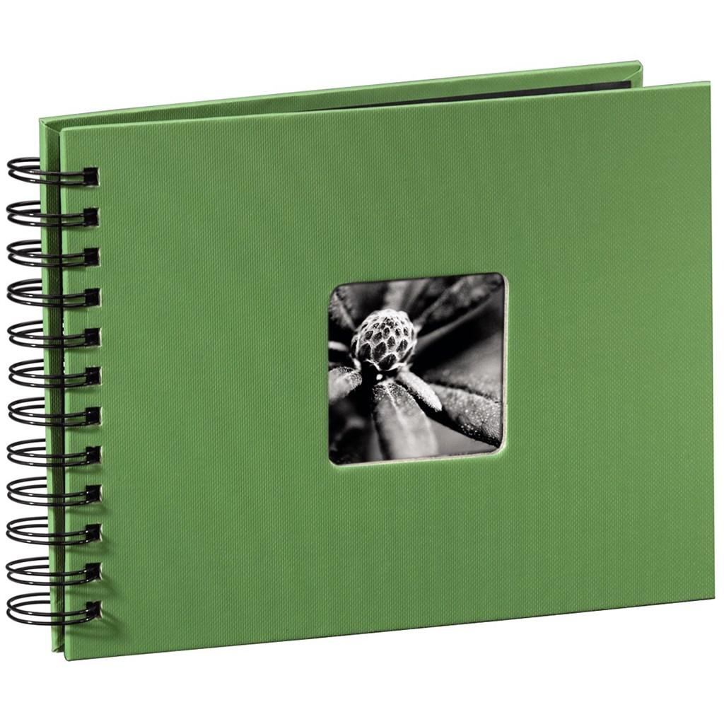 Hama album klasické spirálové FINE ART 24x17 cm, 50 stran, jablečná zeleň