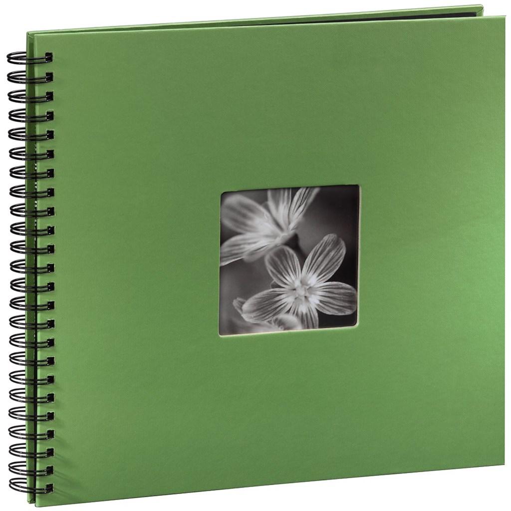 Hama album klasické spirálové FINE ART 36x32 cm, 50 stran, jablečná zeleň