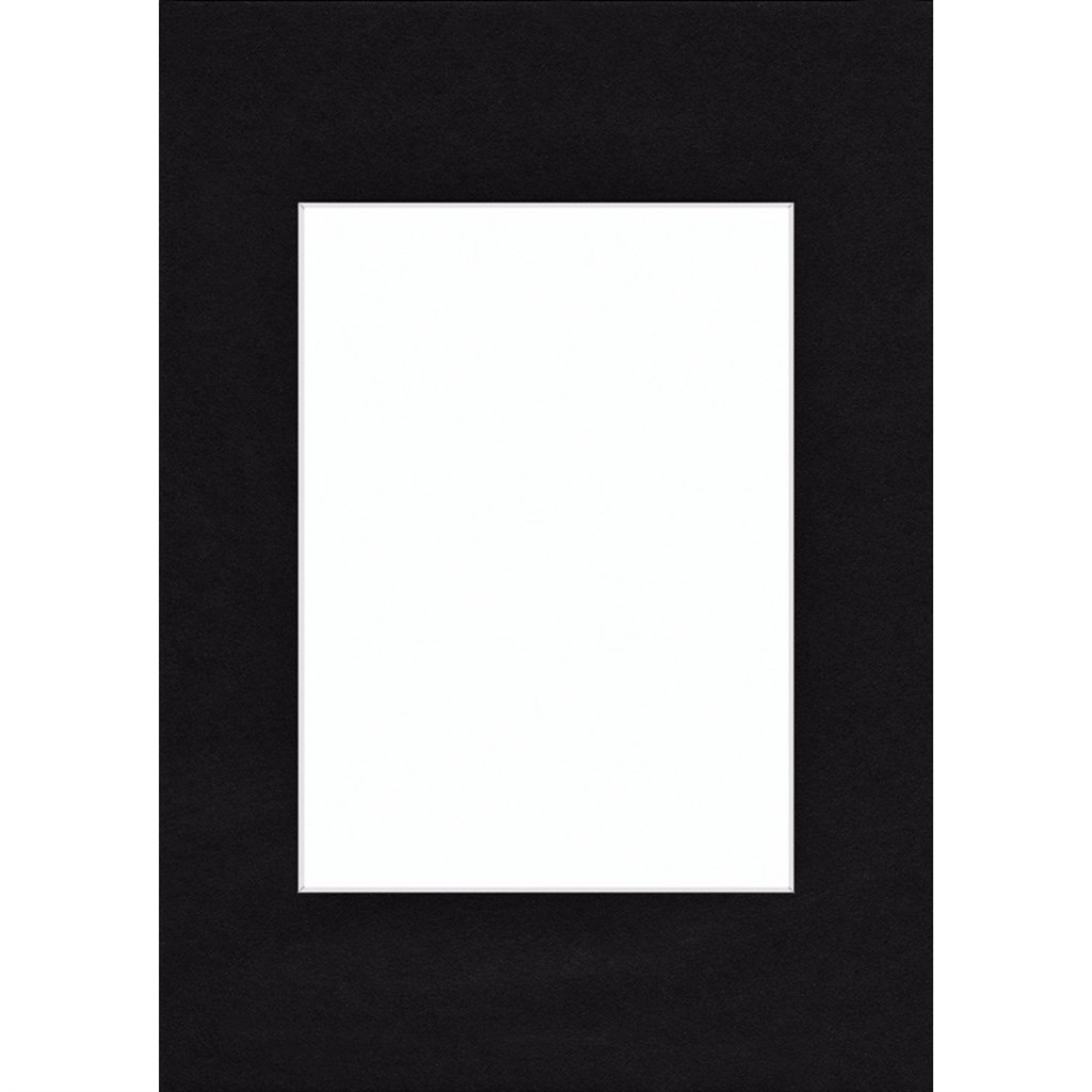 Hama pasparta černá, 10 x 15 cm