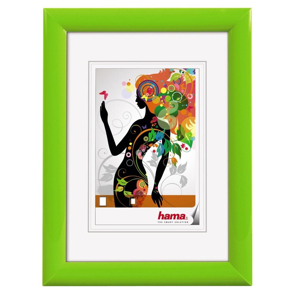 Hama rámeček plastový MALAGA, zelená, 13x18 cm