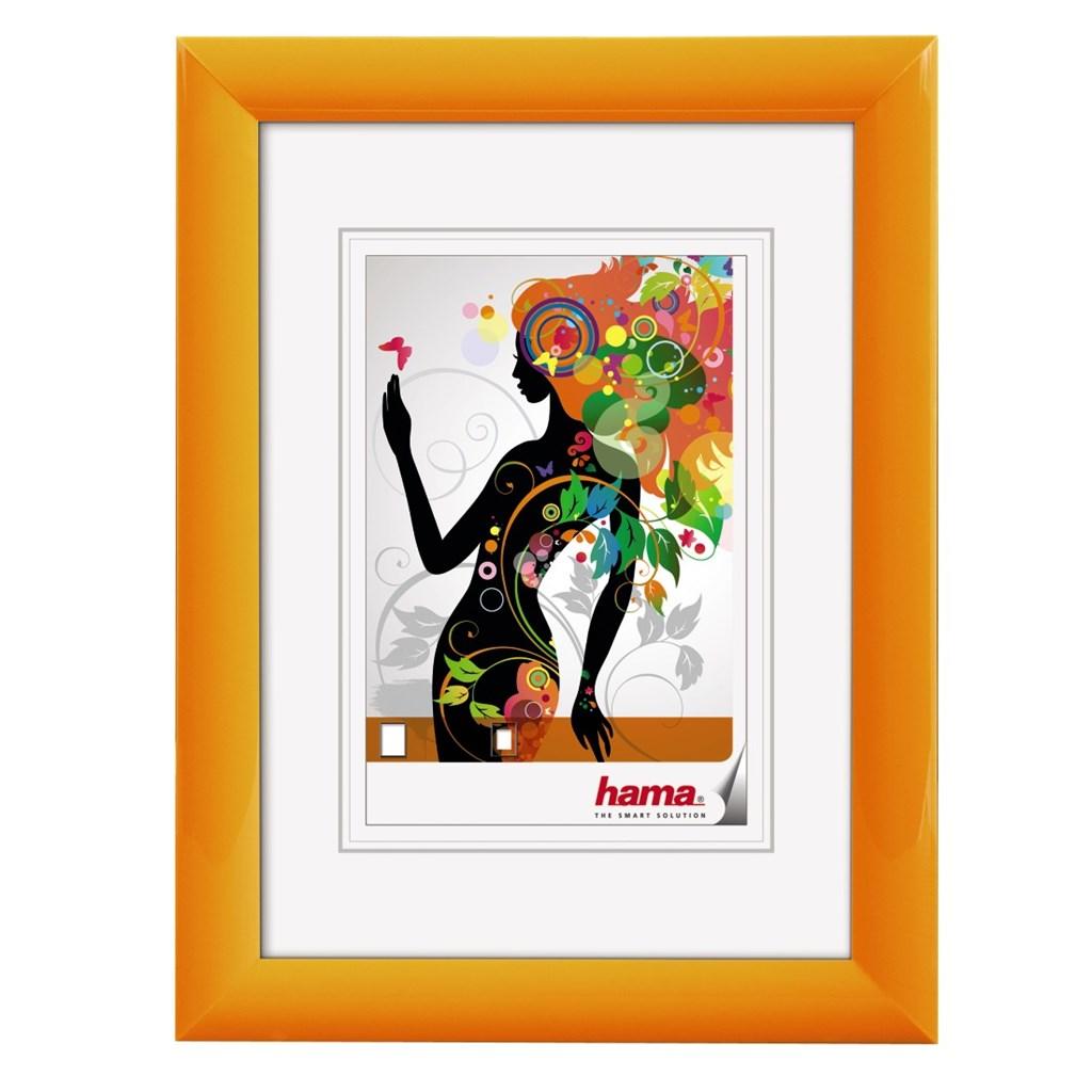 Hama rámeček plastový MALAGA, oranžová, 10x15 cm