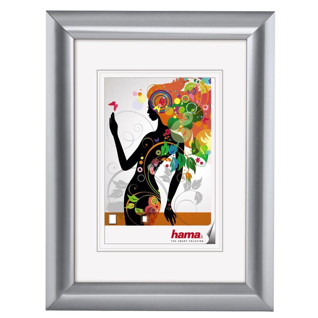 Hama rámeček plastový MALAGA, stříbrná, 13x18 cm