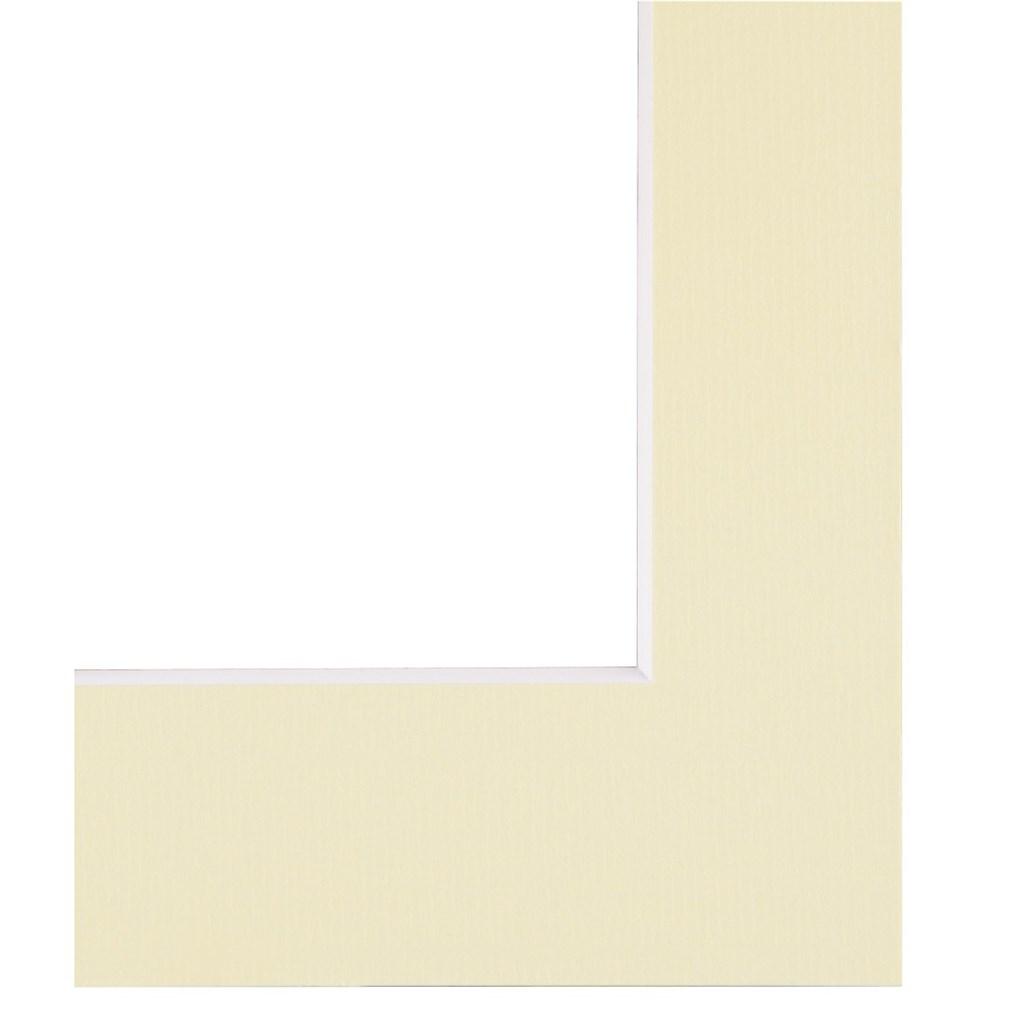 Hama pasparta, barva slonová kost, 30x40 cm/ 20x30 cm