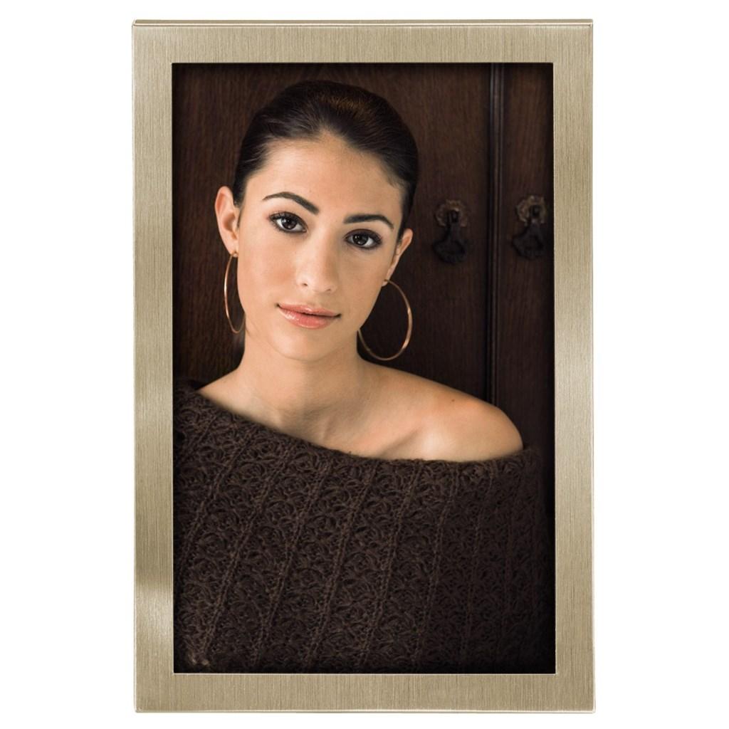 Hama portrétový rámeček Bristol 10x15 cm, champagne