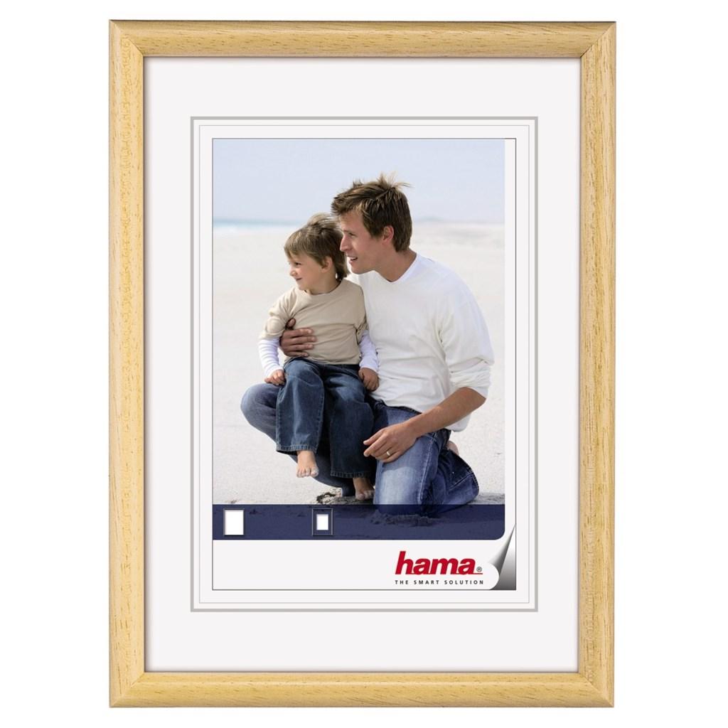 Hama rámeček dřevěný OREGON, přírodní, 13x18cm