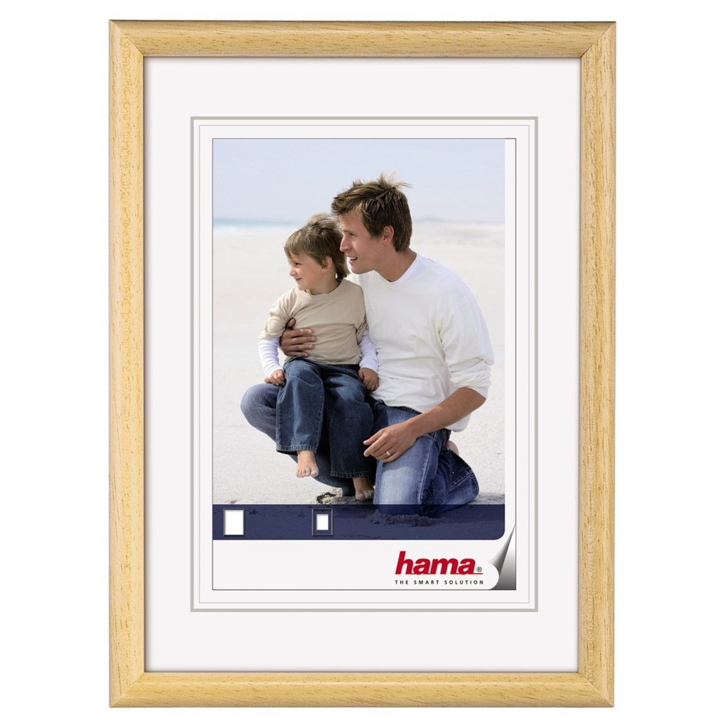 Hama rámeček dřevěný OREGON, přírodní, 18x24cm