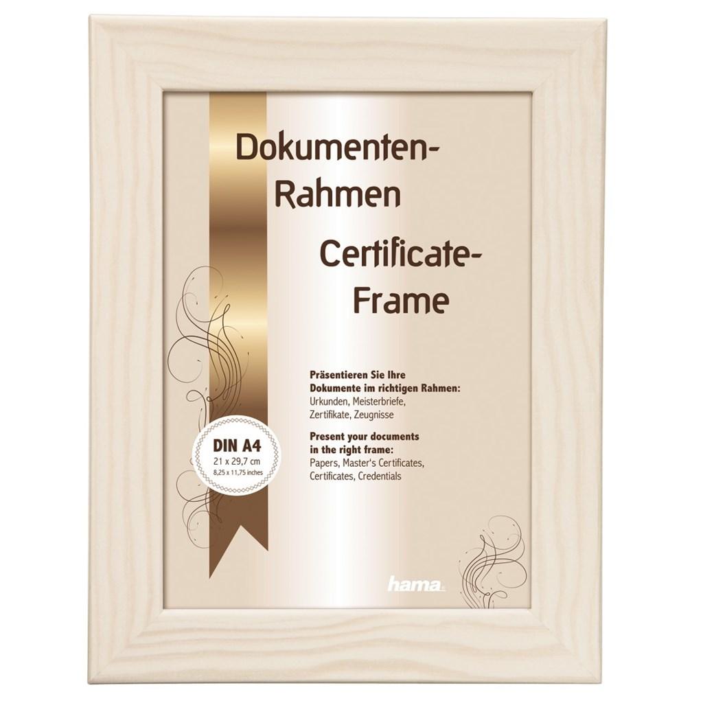Hama rámeček dřevěný RIGA, bílý, 21x29,7cm