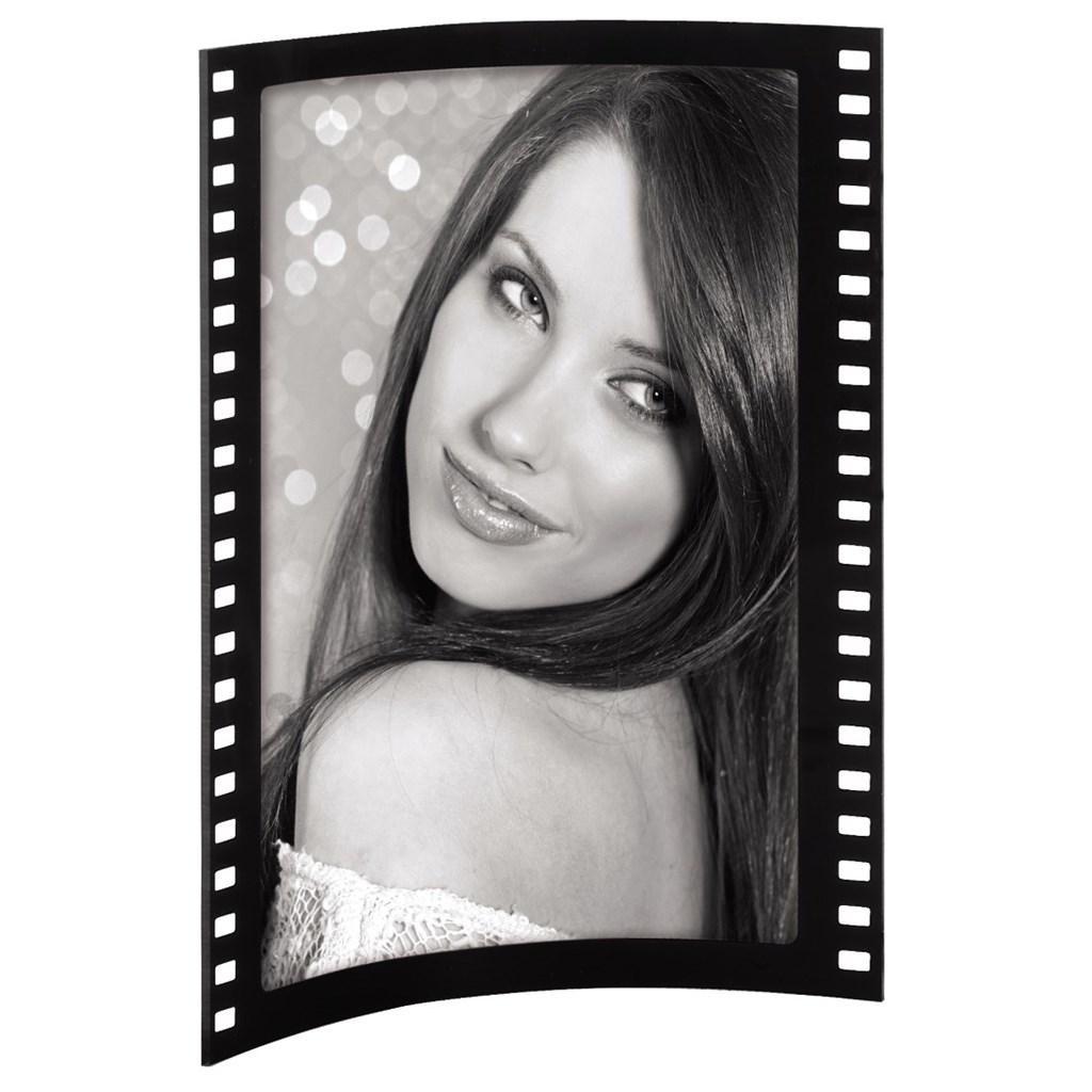 Hama portrétový rámeček Film, 10x15 cm, akrylový, na výšku