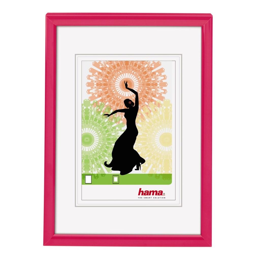 Hama rámeček plastový MADRID, růžová, 10x15 cm