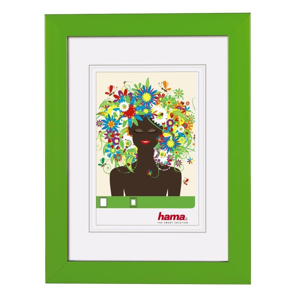 Hama rámeček plastový ARONA, zelený, 13x18cm