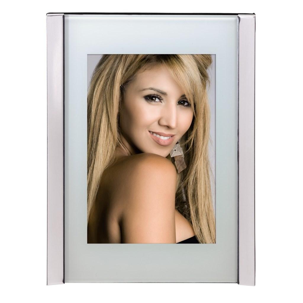 Hama Tokio portrétový rámeček, stříbrný, 10x15 cm