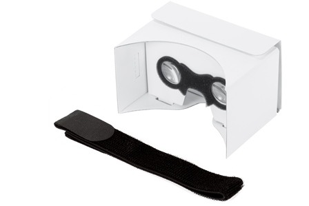 PanoBoard Click Blank, brýle pro virtuální realitu, bílé