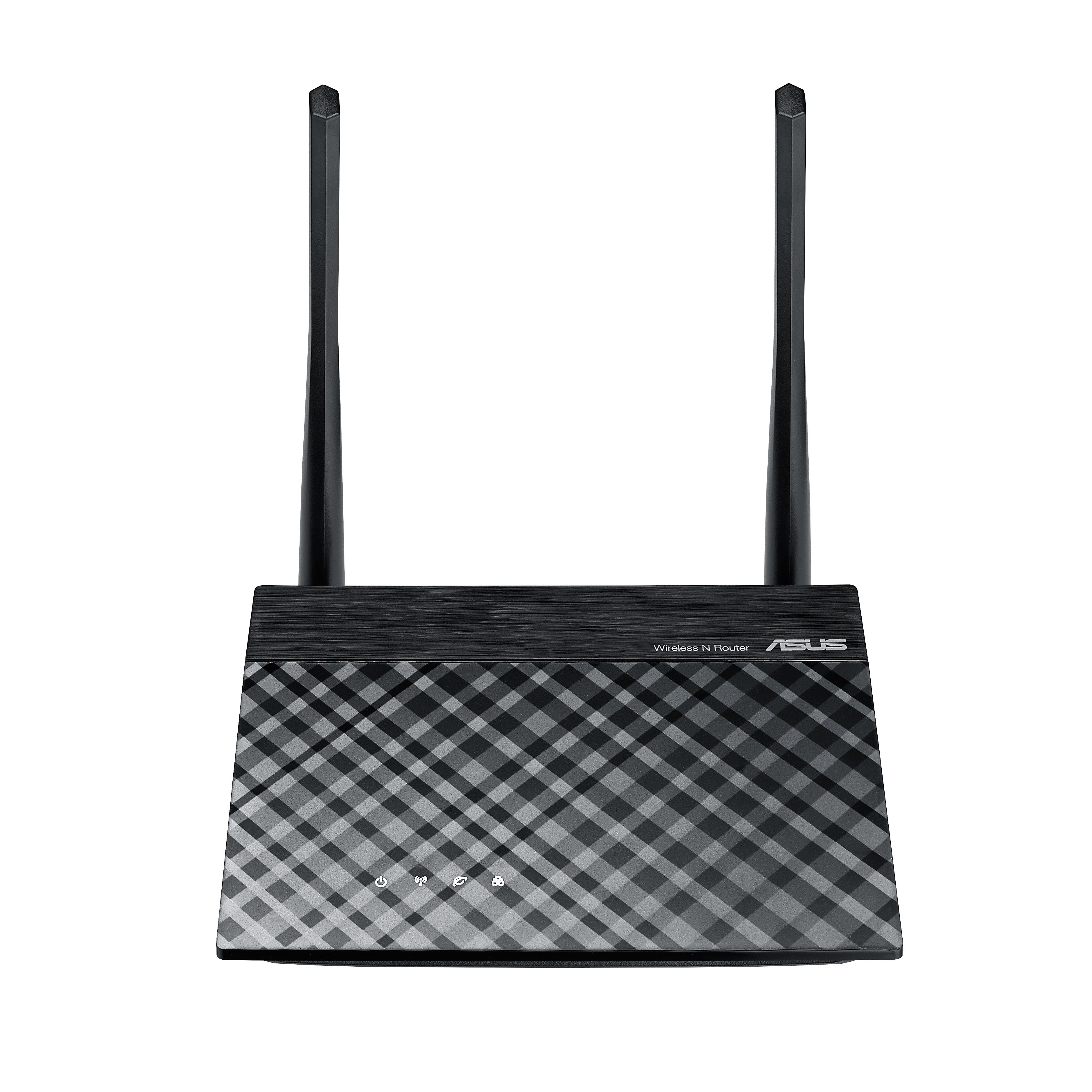 ASUS RT-N12E C1N300 router/RP/AP 2x5dbi,4xSSID,VPN