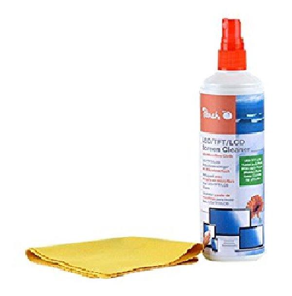Peach Čistící sprej + Micro Fiber utěrka, 250 ml