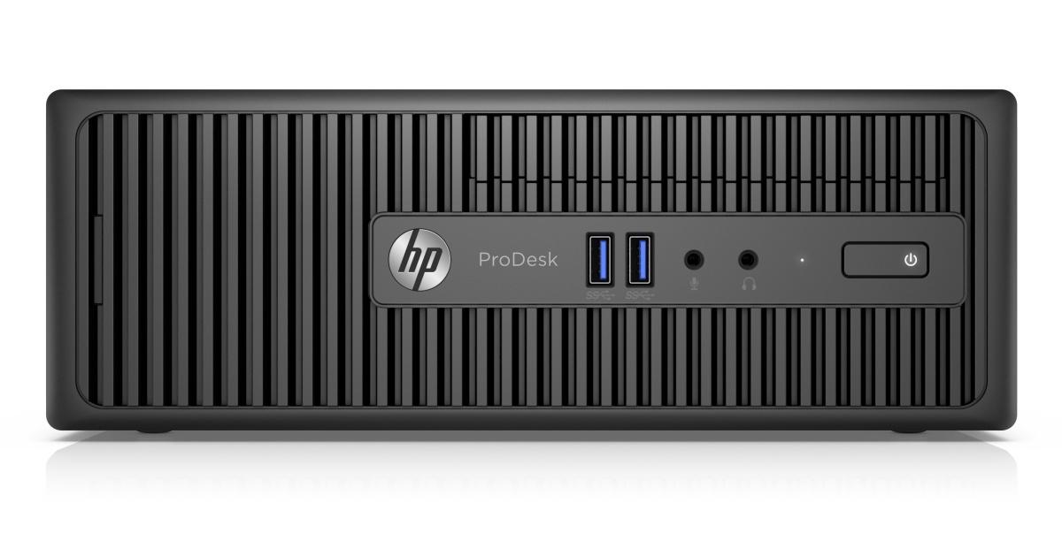 HP ProDesk 400 G3 SFF / Intel i3-6100 / 4GB / 128 GB SSD / Intel HD / W 10 Pro