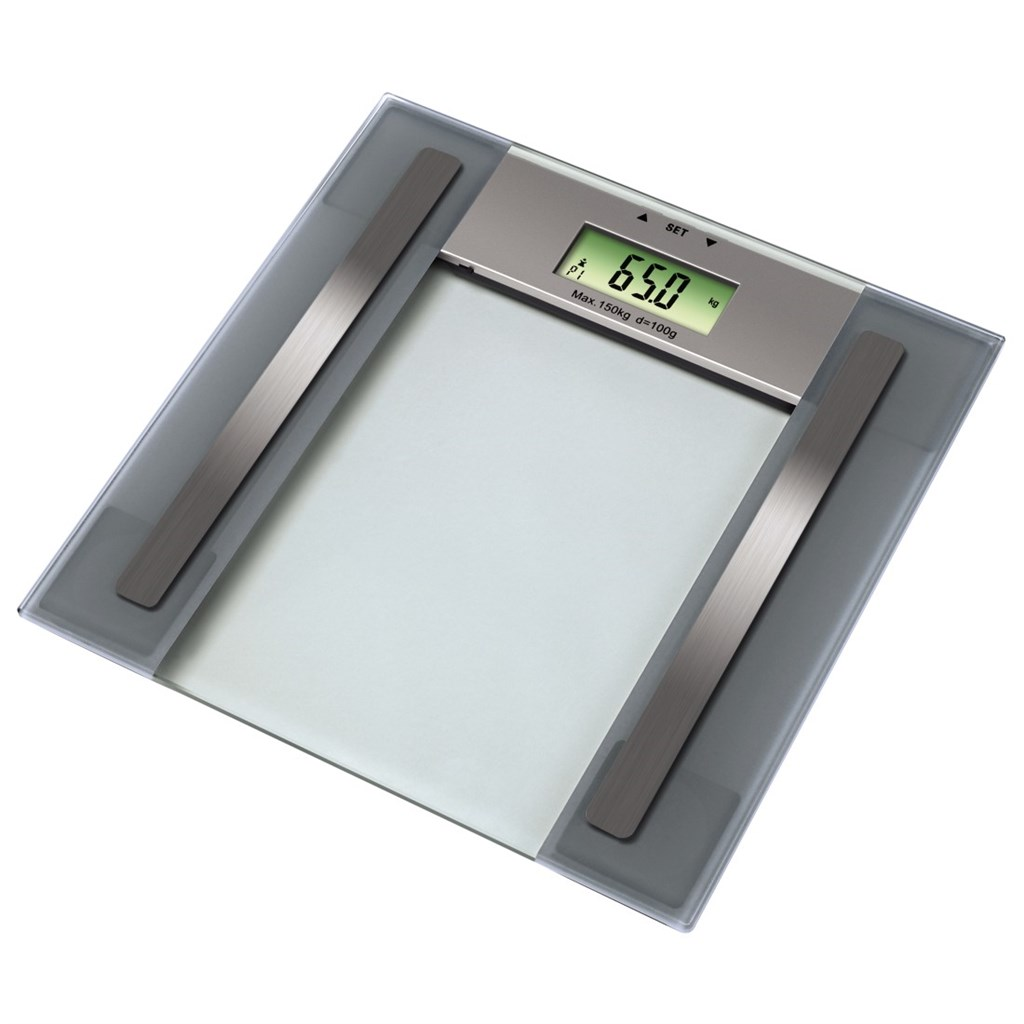 Xavax osobní digitální váha Anna, s měřením tělesného tuku