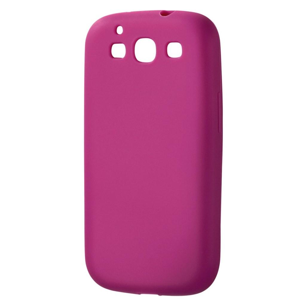 Hama silikonový obal Skin pro Samsung Galaxy S III, růžový
