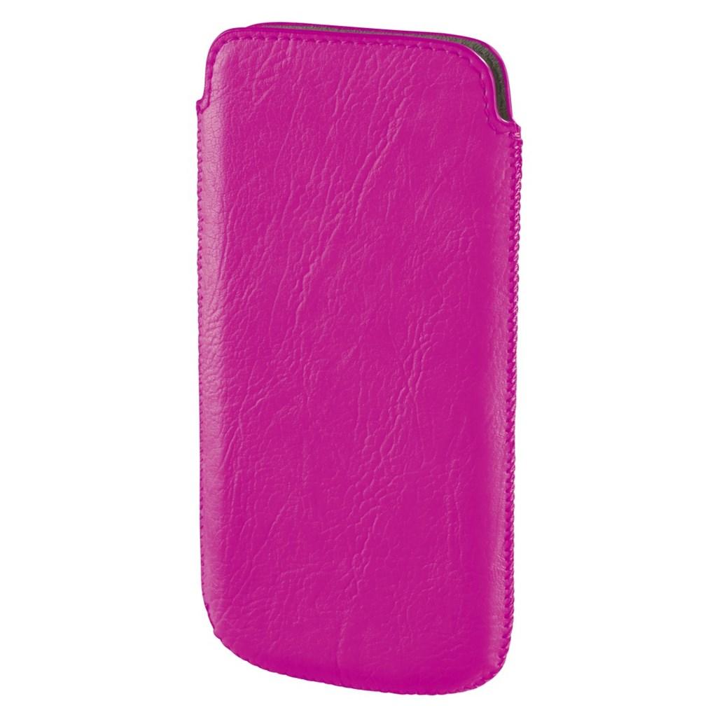 Hama pouzdro na mobil Neon light, velikost L, neónově růžové
