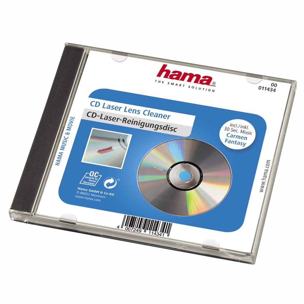 Hama čištění laserového snímače CD přehrávače, suchý proces