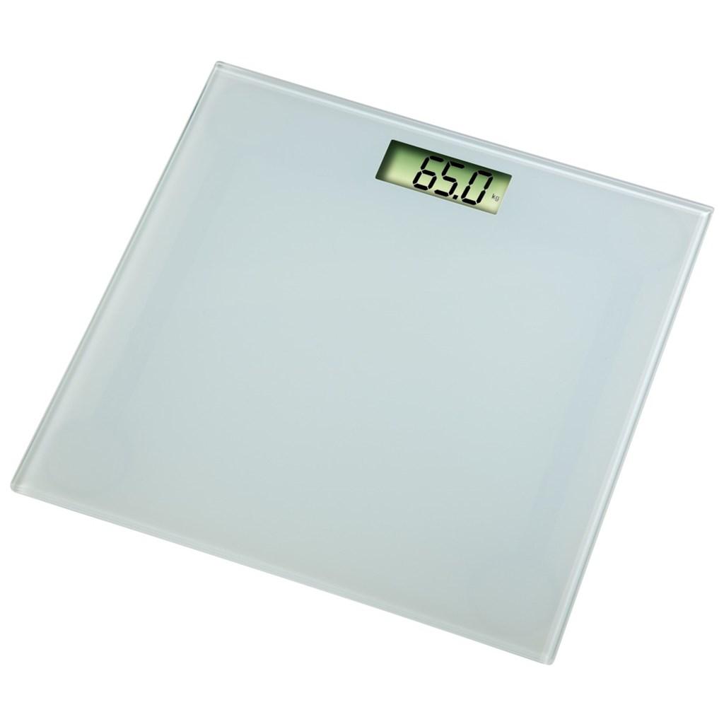 Xavax osobní digitální váha Melina, průhledná bílá