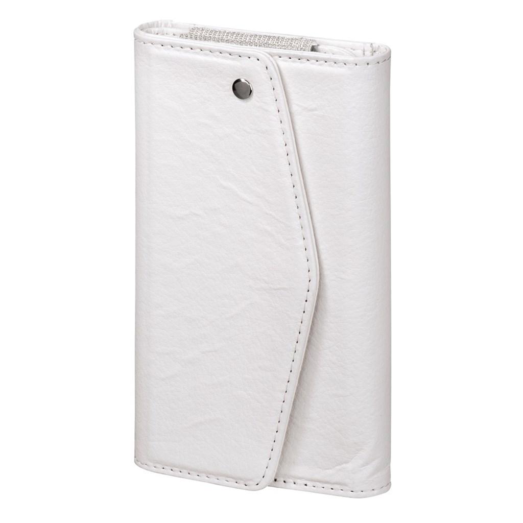 Hama pouzdro-peněženka na mobil Clutch, velikost L, bílé