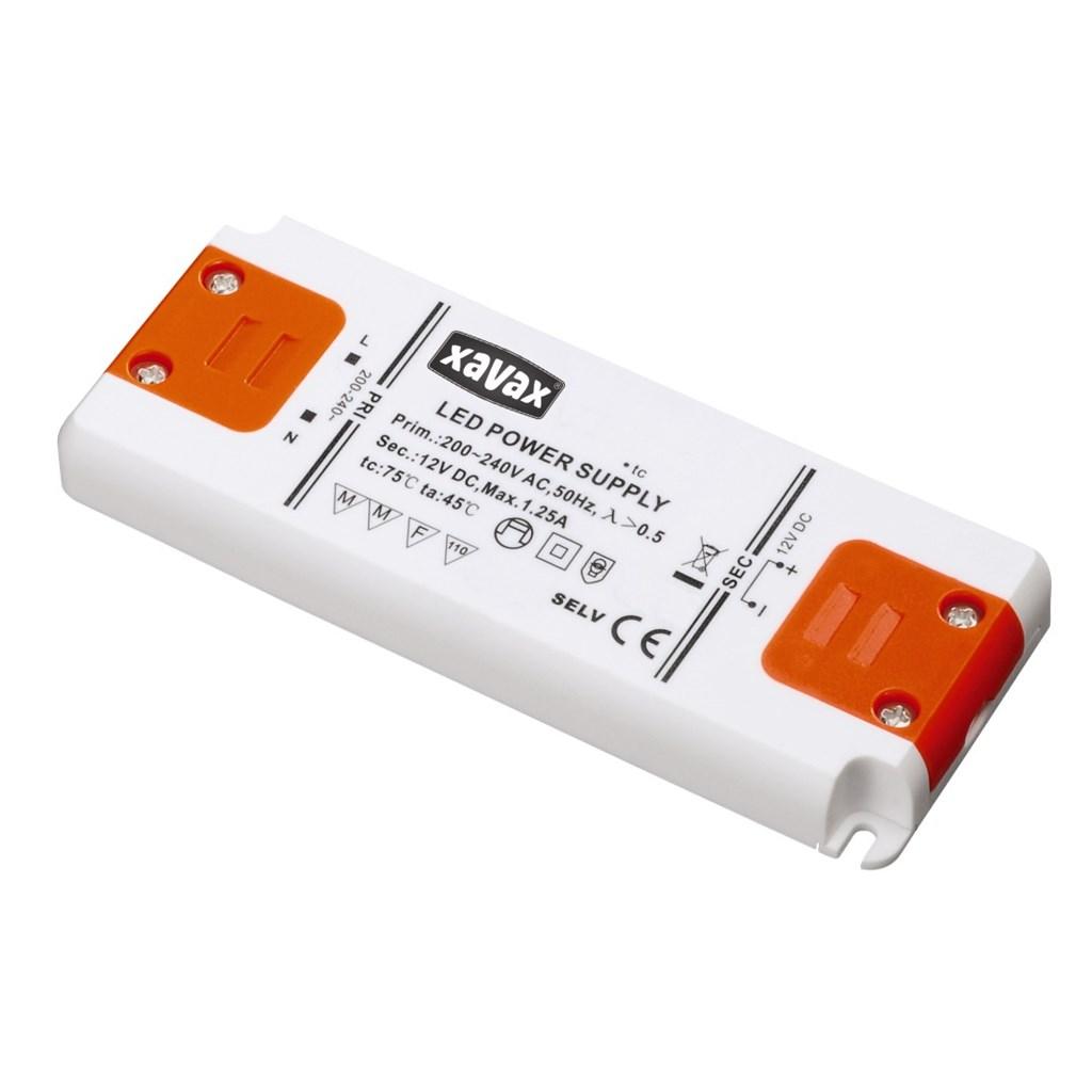 Xavax 15 W LED transformátor pro nízkonapěťové LED žárovky