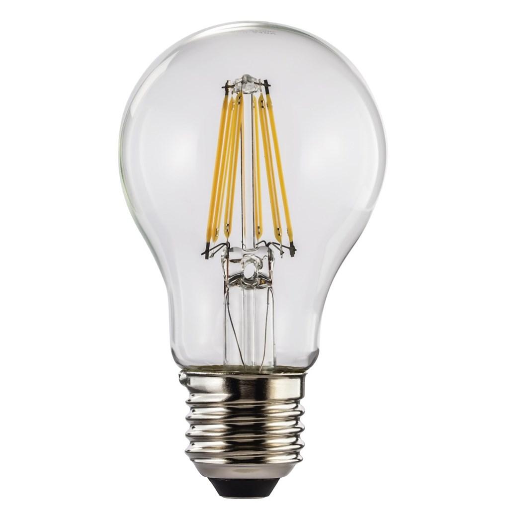 Xavax LED filament žárovka, E27, 8 W (=75 W), teplá bílá