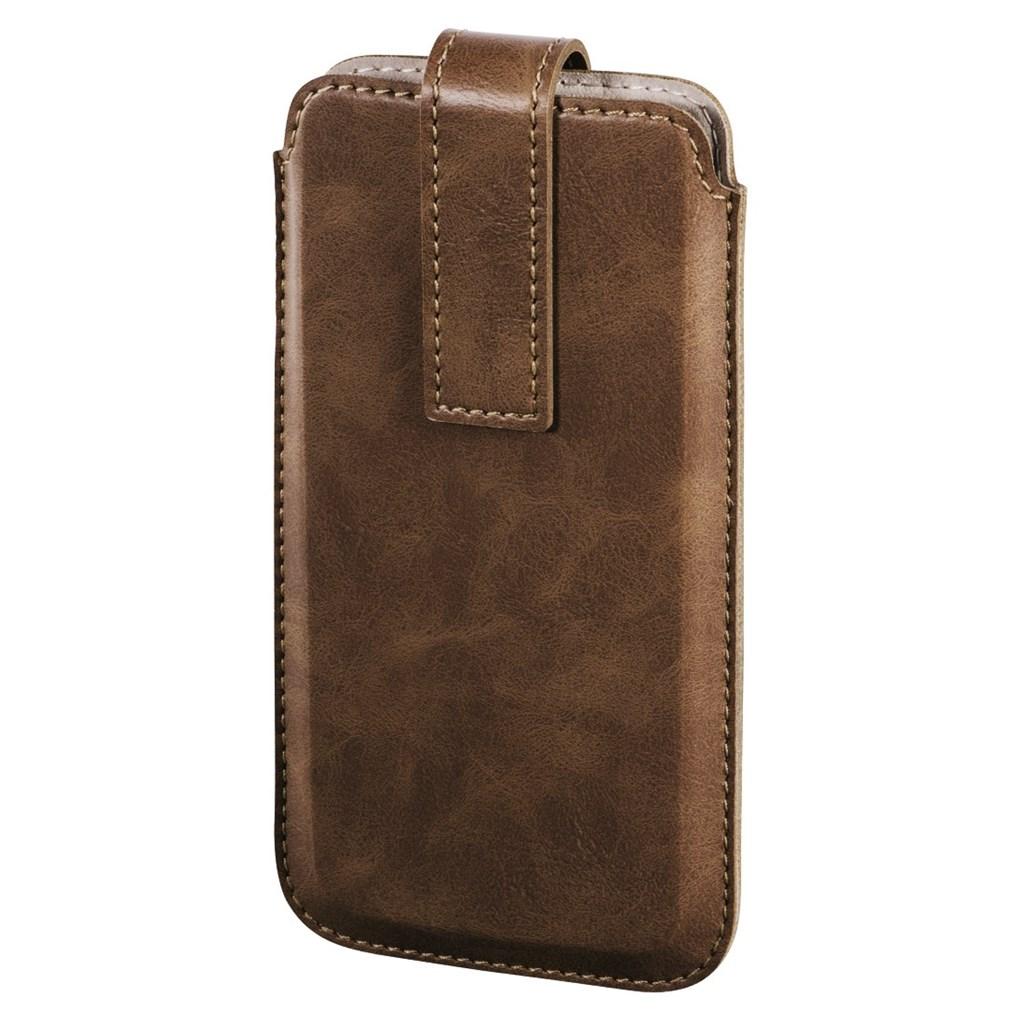 Hama Slide pouzdro na telefon, velikost XL, hnědé