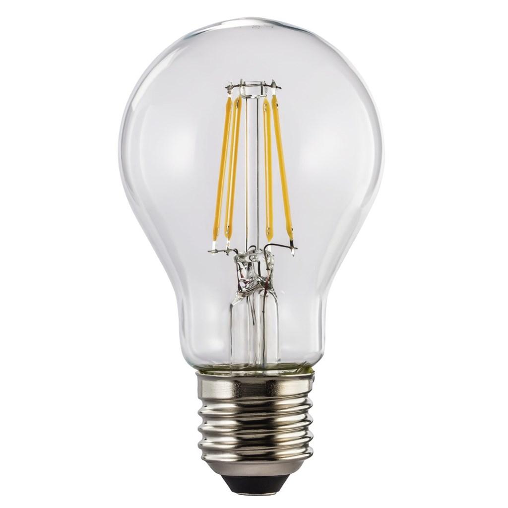 Xavax LED filament žárovka, E27, 6 W (=60 W), teplá bílá