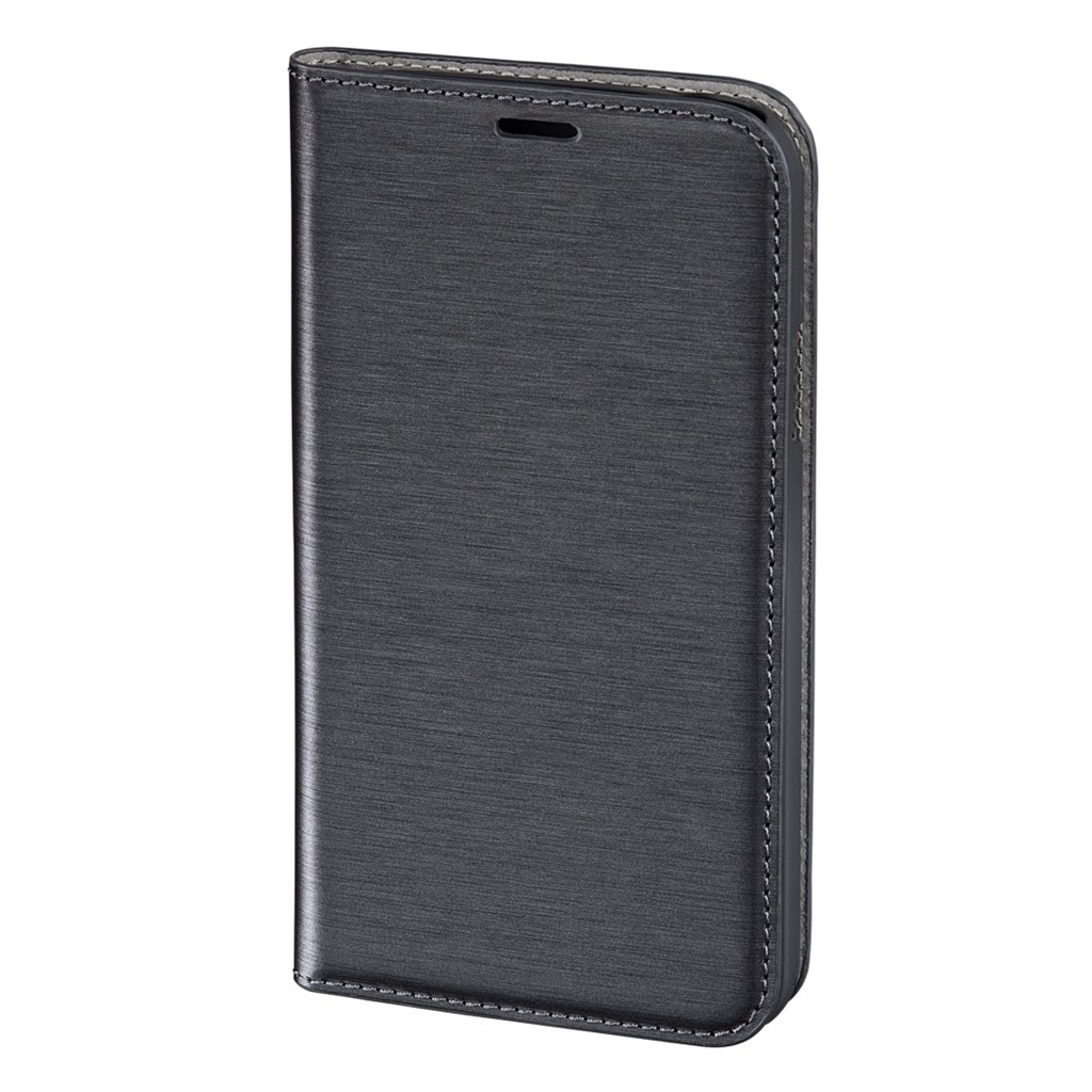 Hama pocket Case Booklet Case for Samsung Galaxy S5, dark grey