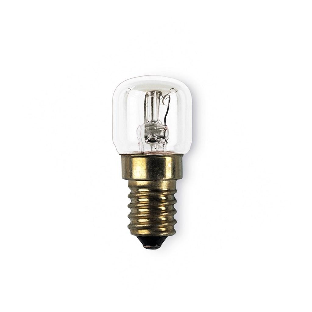 Xavax žárovka žáruvzdorná do 300°C, E14, 15 W, hruškovitá, čirá