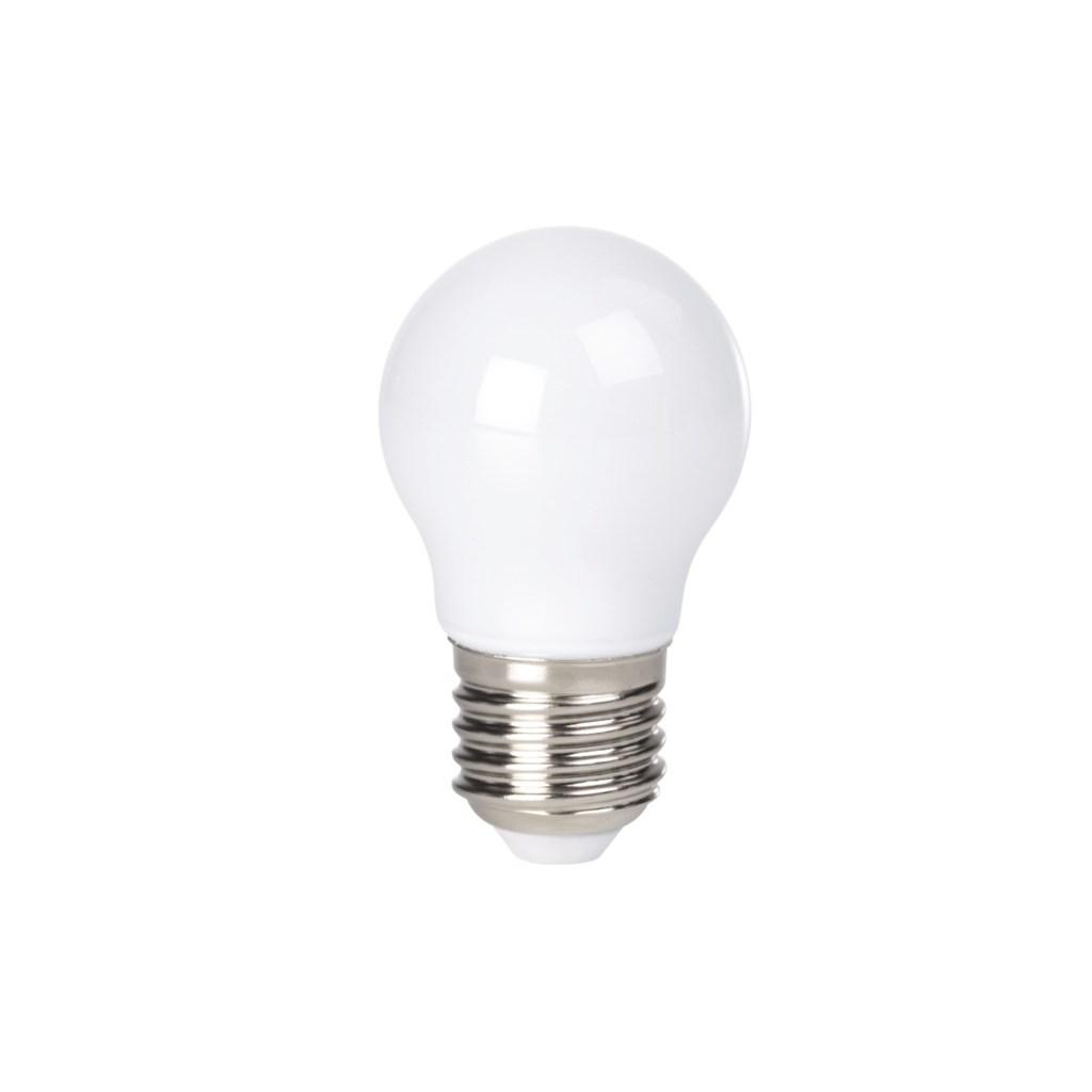 Xavax LED žárovka, 2,5 W (=25 W), E27, plně skleněná, kapka, teplá bílá
