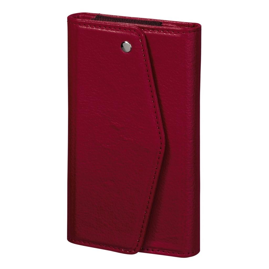 Hama pouzdro-peněženka na mobil Clutch, velikost L, korálové