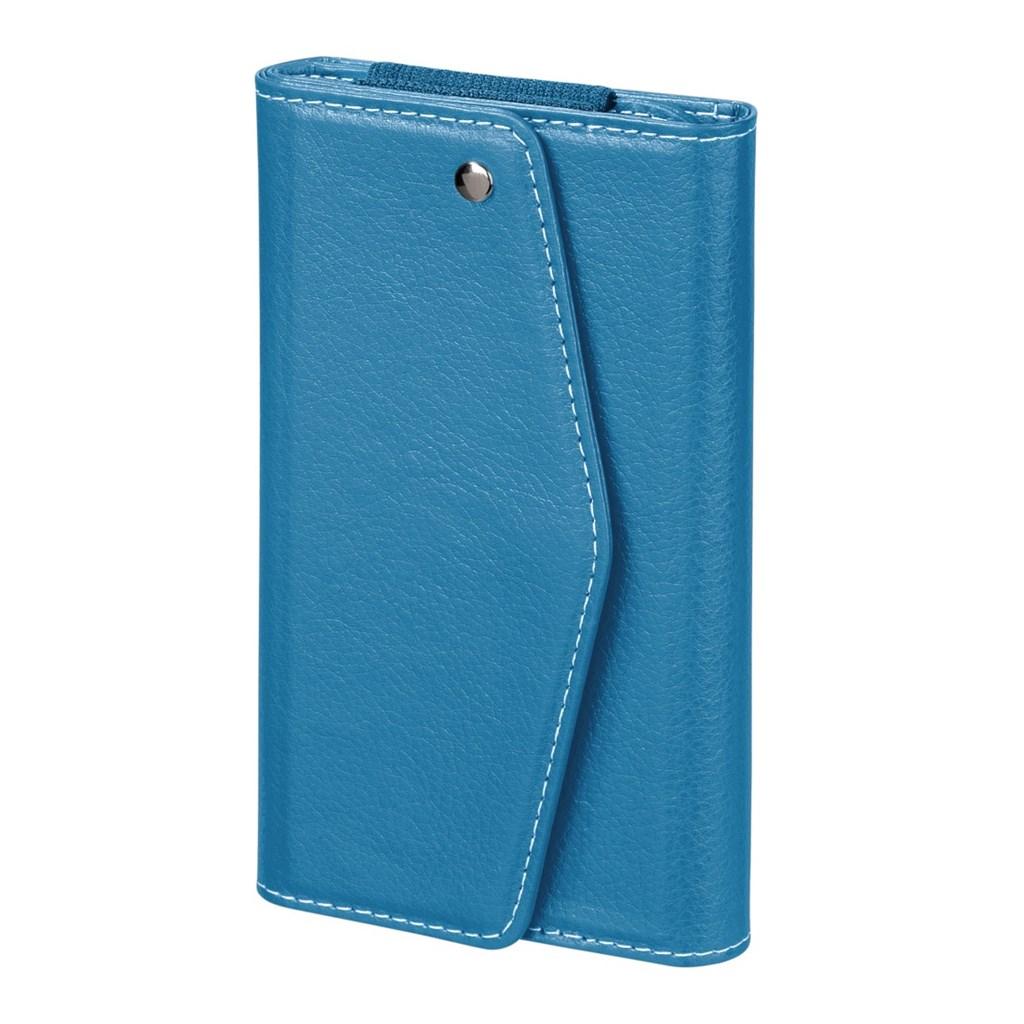 Hama pouzdro-peněženka na mobil Clutch, velikost XL, aqua