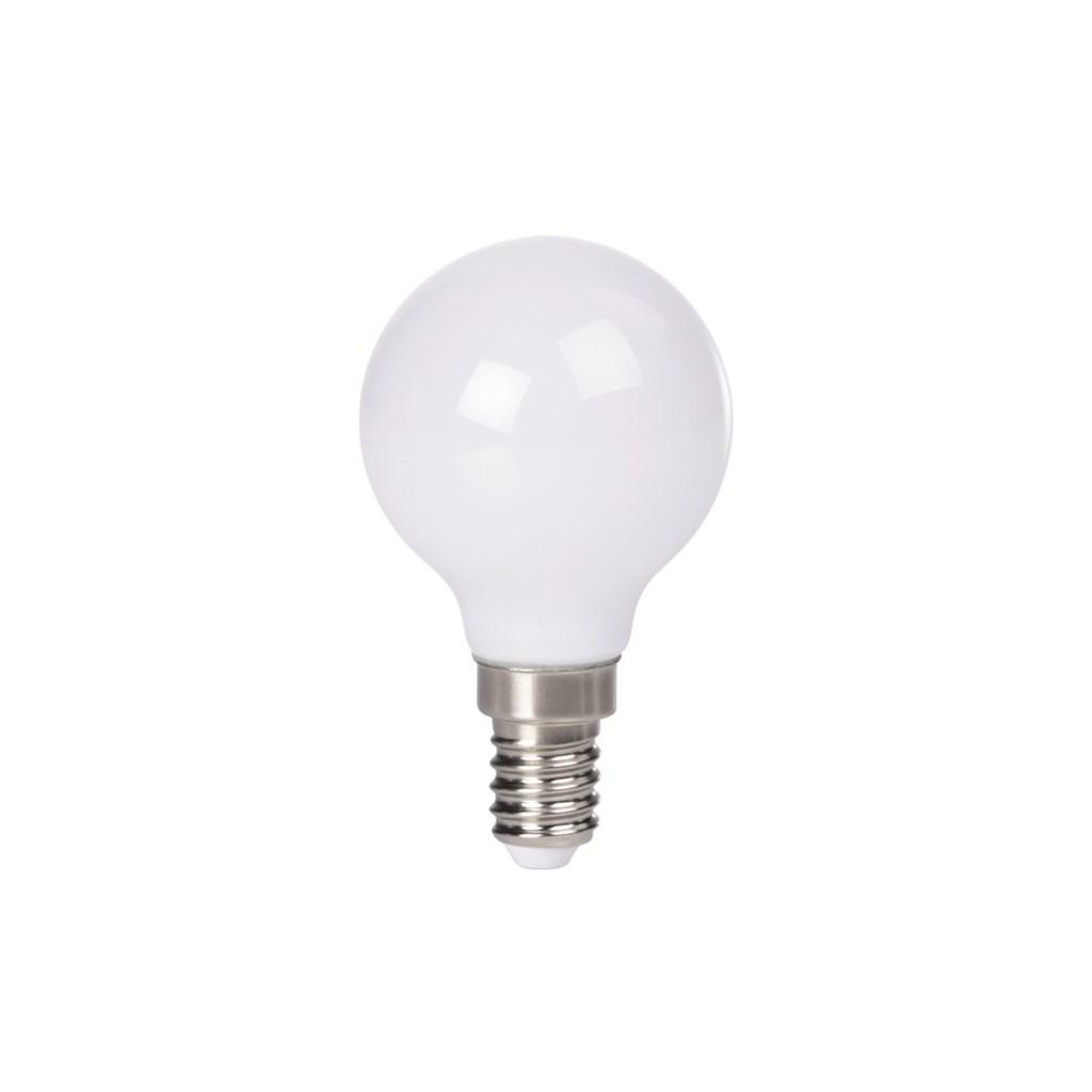 Xavax LED žárovka, 2,5 W (=25 W), E14, plně skleněná, kapka, teplá bílá