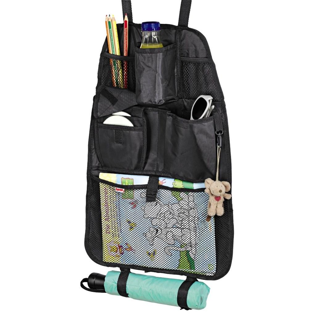 Hama organizér do auta s kapsou pro CD přehrávač, barva černá