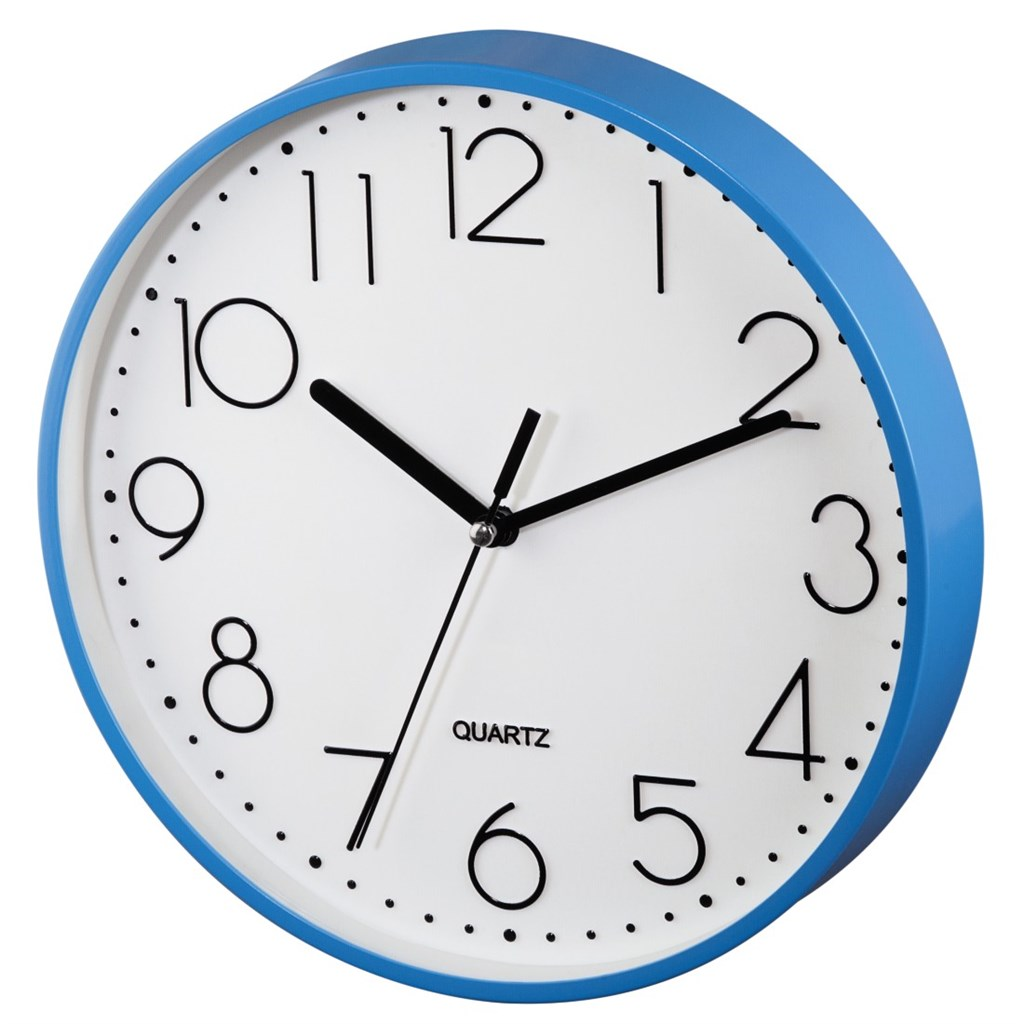 Hama nástěnné hodiny PG-220, tichý chod, modré