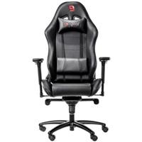 SPC Gear SR500 BK herní židle černá - kožená