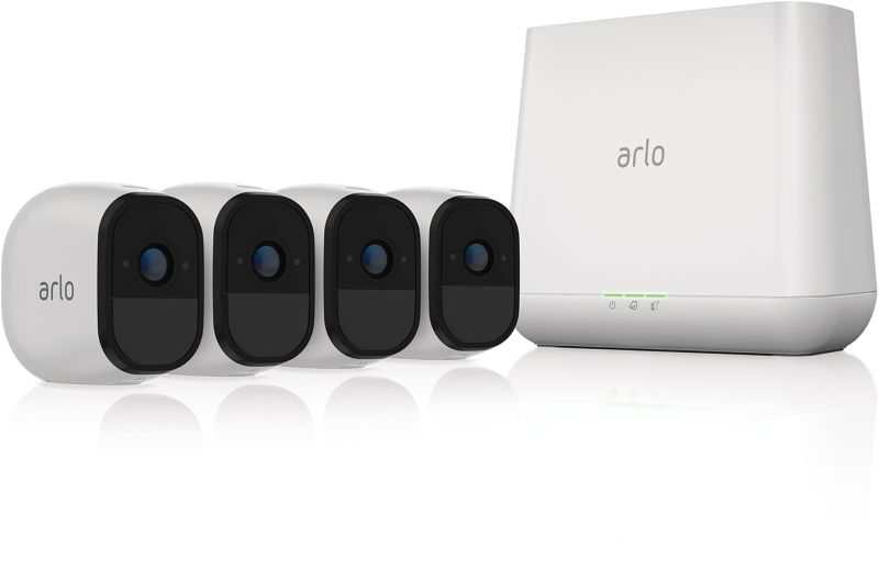 ARLO PRO 4 x HD Camera Smart Security System Wire Free (VMS4430)