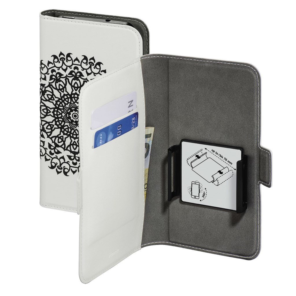 "Hama Smart Move-Boho Circle, pouzdro na mobil, L (4""-4,5""), bílé"